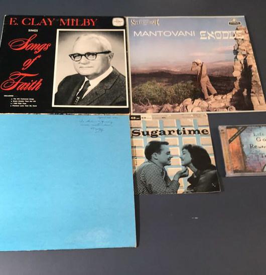 (3) Albums, (1) 45 Record, (1) CD