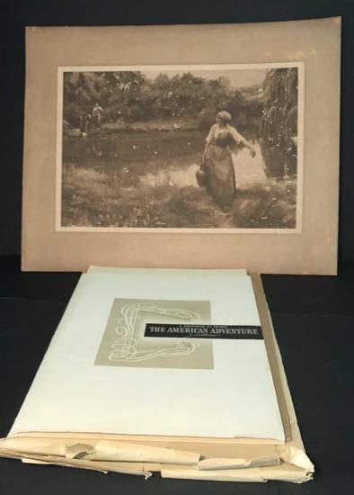 (2) Al Mettel Prints of Original Color Etchings--