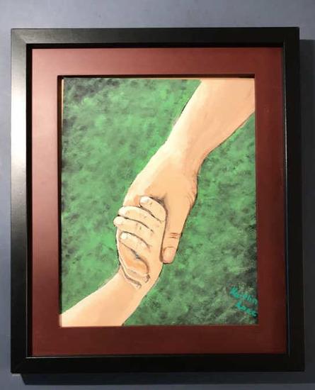 """Framed Painting--11"""" x 13"""" Framed"""