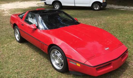 1990 Chevrolet Corvette 2-Door Coupe T-Top & Hard