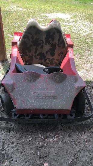 Pacer Bumper Car, 2-Seater, Gas Operated--Serial