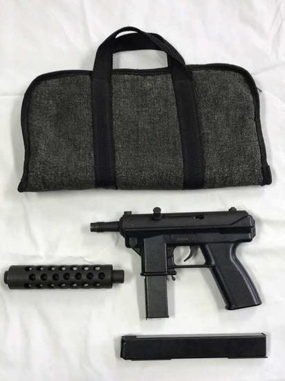 Intratac TEK 9, 9mm Luger w/ Barrel Extender,