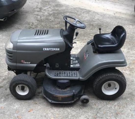 Craftsman LT 1000 16 HP OHV Riding Mower/Garden
