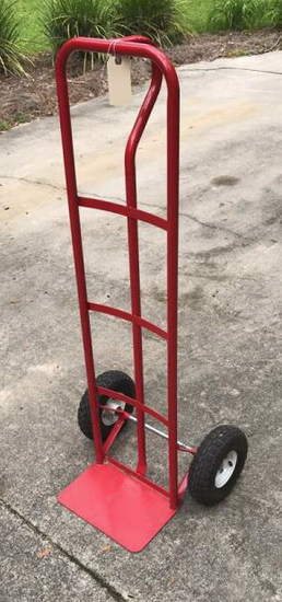 Hand Truck with Rubber Tires