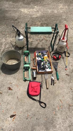 Garden Bench, Sprayers, Small Hand Garden Tools,