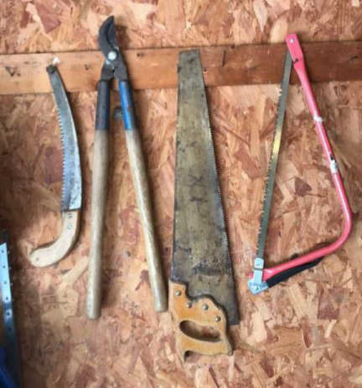 Hand Saw, Pruning Saws, Hand Pruner