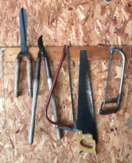 Hand Saw, Hack Saw, Pruning Saw, Hand Pruner