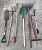 (7) Long Handle Garden Tools