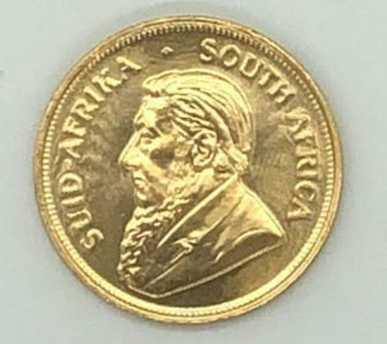 1975 South Africa One Ounce Gold Krugerrand