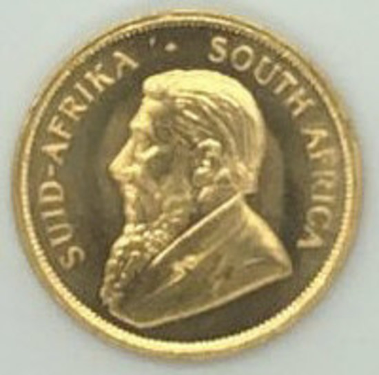 1978 South Africa One Ounce Gold Krugerrand