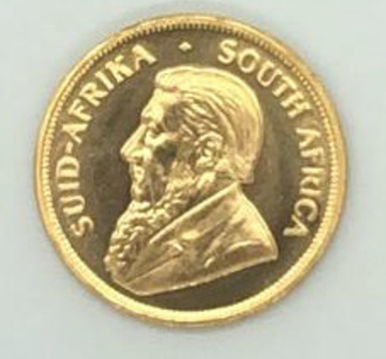 1978 South Africa One Ounce Gold Kruggerand