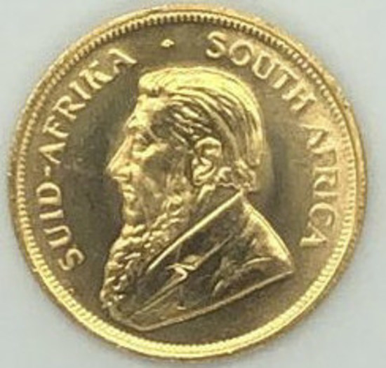 1981 South Africa One Ounce Gold Krugerrand