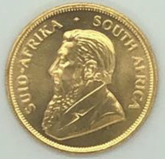 1983 South Africa One Ounce Gold Krugerrand