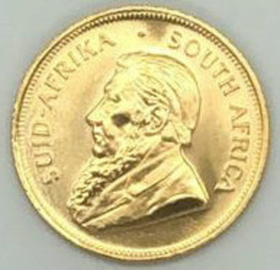 1984 South Africa One Ounce Gold Krugerrand