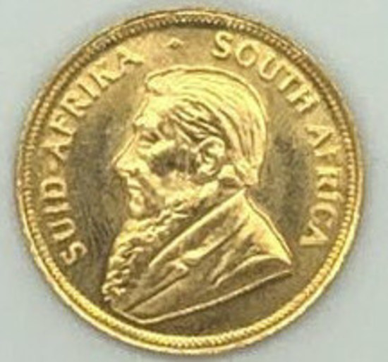 1980 South Africa One Half Ounce Gold Krugerrand