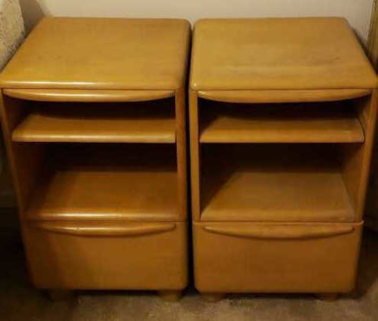 (2) Heywood Wakefield Mid-Century Modern Night Stands