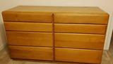 Mid Century Modern 8-Drawer Dresser