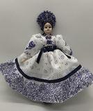Judit Folklor Souvenir Handmade 9 In.  Doll