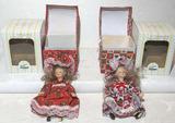 (2) Seymour Mann Dolls w/Boxes
