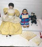 (3) Dolls, Etc