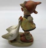 Hummel Goebel Girl with Geese Figurine
