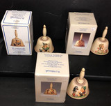 (3) Hummel Annual Bells with Orginal Boxes: