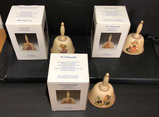 (3) Hummel Annual Bells with Original Boxes: