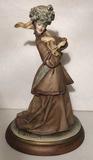 Figurine Marked B. Merlin--11 1/2
