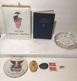 Assorted Patriotic Collectibles: America's 200