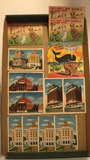(14) Vintage Post Cards