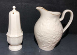 (2) Lenox Items: Blackberry Collection Pitcher