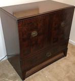 2-Door Cabinet w/Fall Front Door (Mid Century
