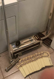 Vintage Electrolux Canister Vacuum Cleaner with