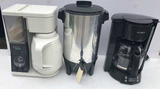 (3) Small Kitchen Appliances:  West Bend 30-Cup