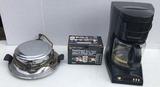 (3) Small Kitchen Appliances:  Hamilton Beach