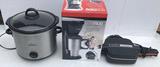 (3) Small Kitchen Appliances:  One Mug Coffee