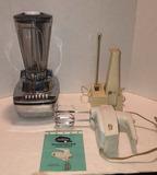 (3) Small Appliances: Hamilton Beach Blender,