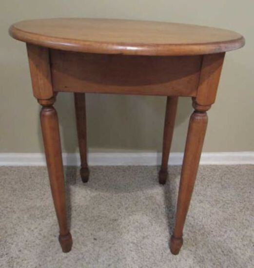 """Round  End Table--25"""" Diameter, 28 1/2"""" High"""