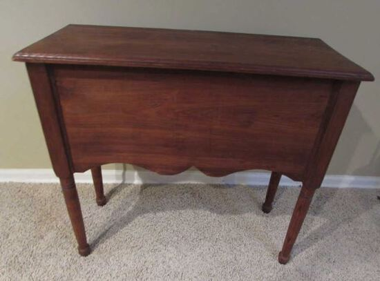 Vintage Handmade Table--Made to Hold a Radio--