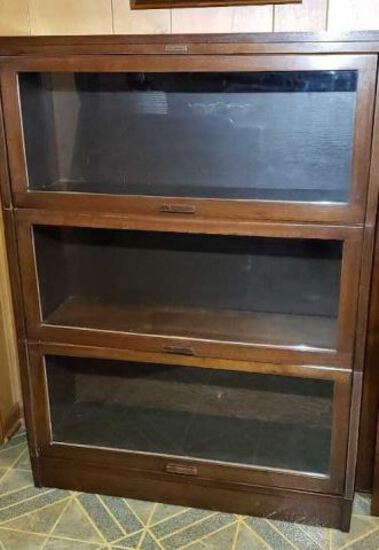 (3) Stack Barrister's  Bookcase by Lundstrom