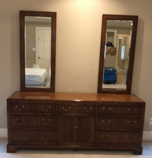 American of Martinsville Triple Dresser with (2)