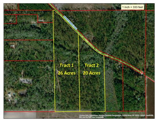 Tract 1 - 26 Acres