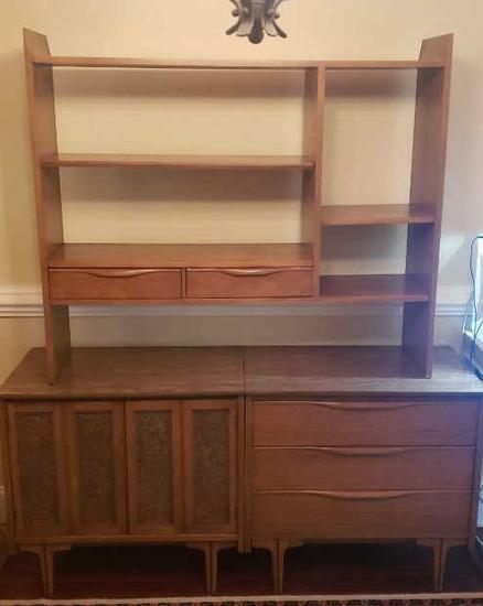 Mid-century Modern Buffet w/Adjustable Shelves