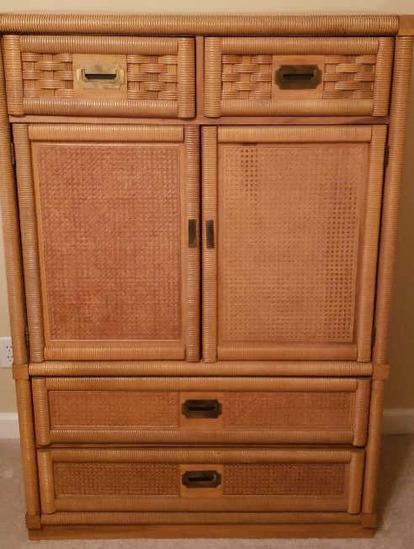Armoire w/Cain Inserts