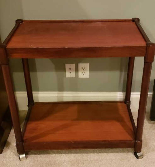 Bar Cart on Casters