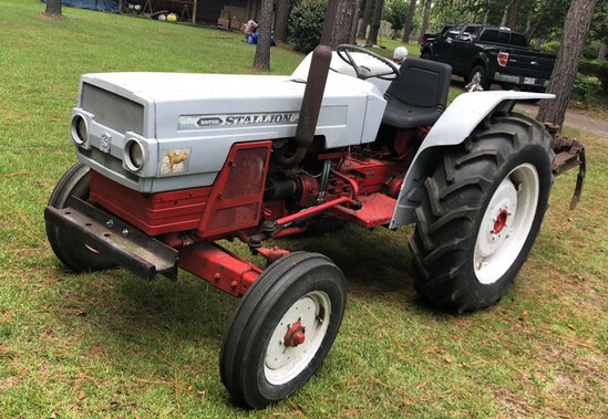 Satoh Stallion 750D (Mitsubishi) 40 HP Tractor,