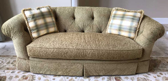 "Custom Upholstered Sofa - 81"" Long"
