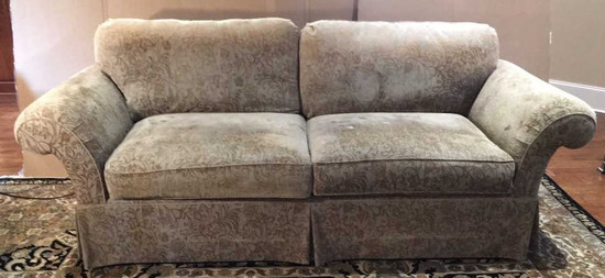 Taylor King Breckenridge Style Upholstered Sofa--99 1/2""
