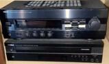 Yamaha Natural Sound Stereo Receiver and Yamah
