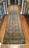 Hand-Knotted Runner